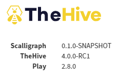 TheHive V4 - More Config
