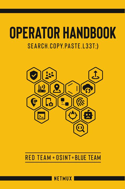 Book Review: Operator Handbook Search. Copy. Paste. L33t ;)